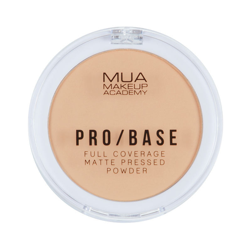 MUA Pro Base Full Coverage Matte Pressed Powder #120 at BD Budget Beauty (BBB)