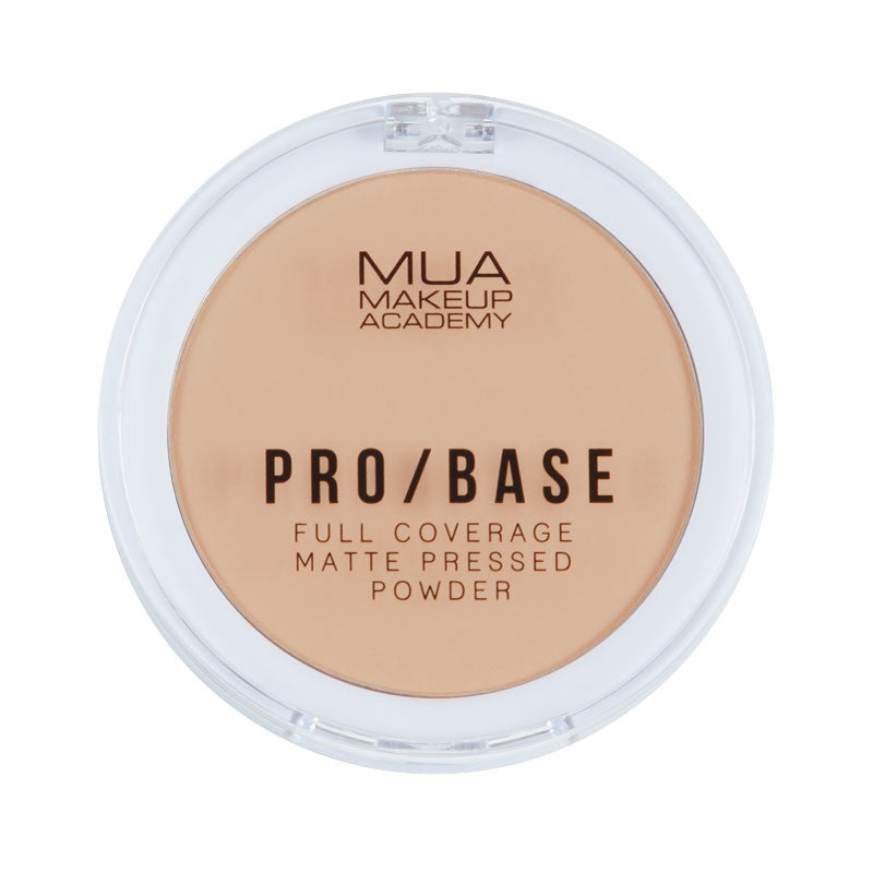 MUA Pro Base Full Coverage Matte Pressed Powder #130 at BD Budget Beauty (BBB)