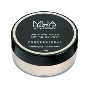 MUA Ultra-Fine Loose Setting Powder - Mattifying Translucent at BD Budget Beauty (BBB)