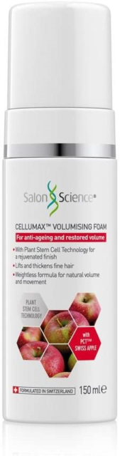 Salon Science - Swiss Apple Cellumax Volumising Foam - 150ml