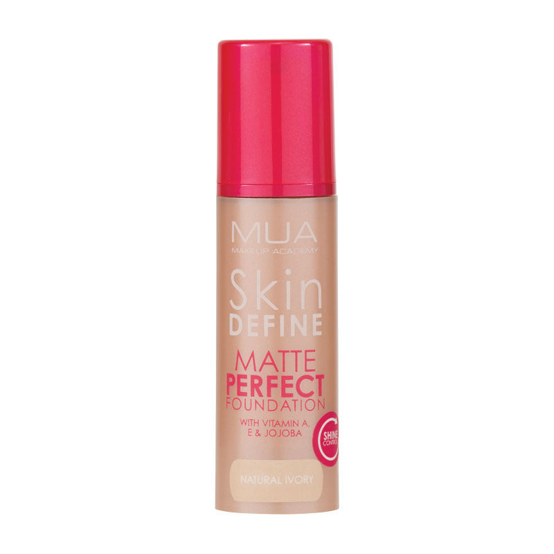 MUA Skin Define Matte Perfect Foundation - Natural Ivory at BD Budget Beauty (BBB)