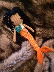 Crocheted Mermaid Doll