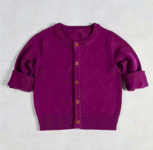 Cotton Cardigan RICH colour collection