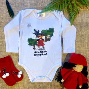 Little Whero Riding Hood Romper & T - Shirt