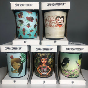 Coffee Cup NZ Artists