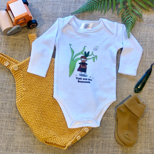 Tiaki and the Beanstalk Romper