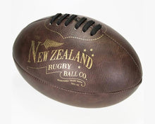 Large Rugby Ball Antique Look Moana Rd