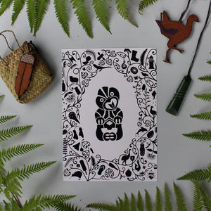 AB SEEK book & art print combo