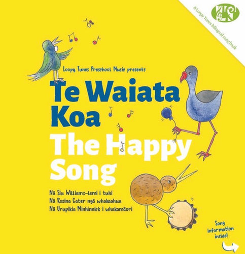 Book The happy song. Te Waiata Koa