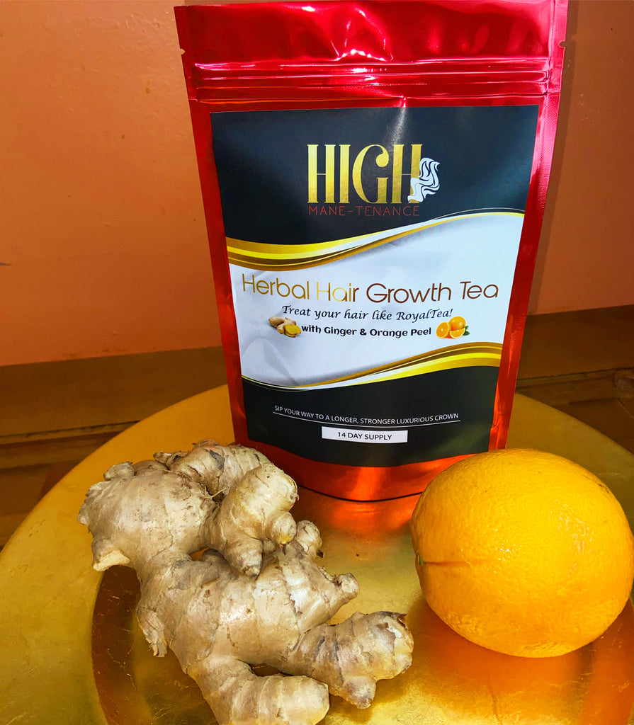 BACK IN STOCK! NEW Immune Boosting Herbal Hair Growth Tea