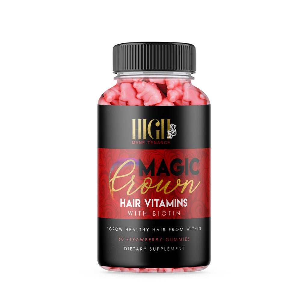 Magic Crown Hair Vitamins - Healthy Hair Gummies