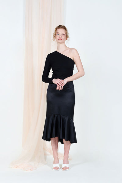 Esme satin skirt