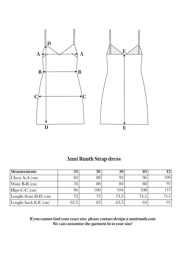 Anni Ruuth Strap Dress