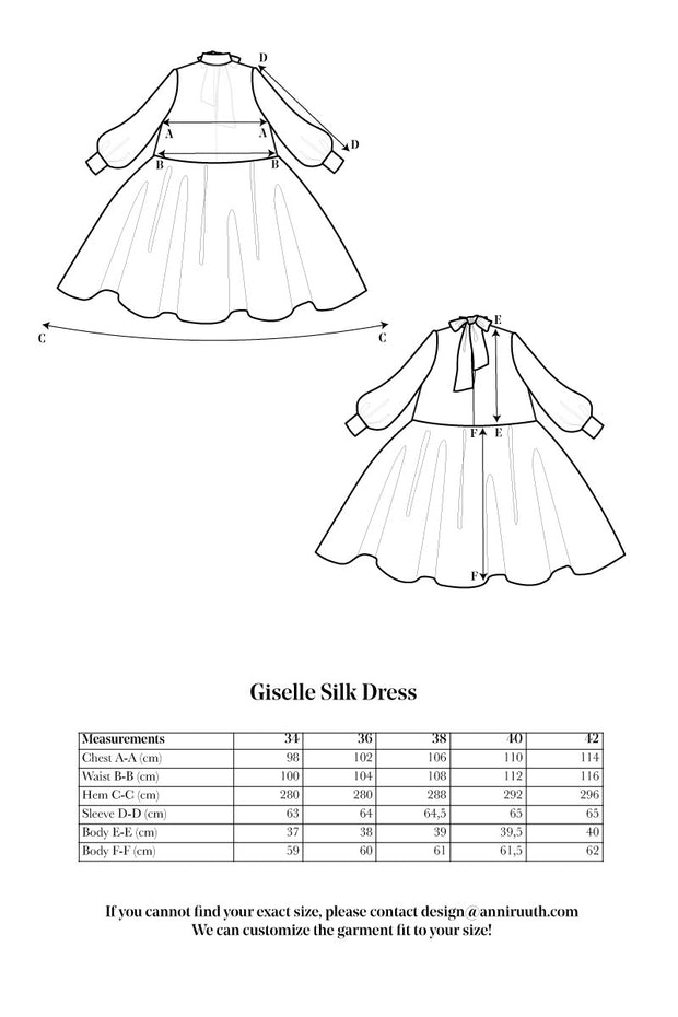 Giselle Silk Dress