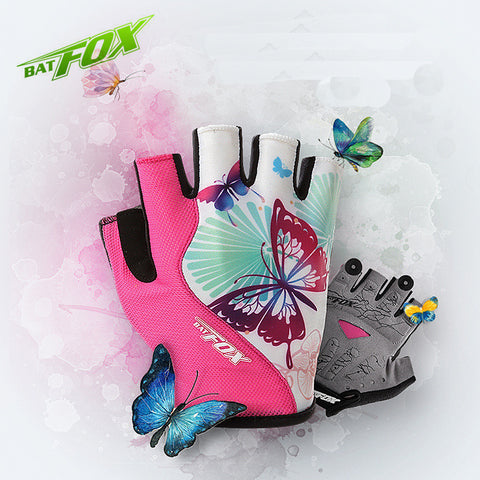 BATFOX Women Bicycle Gloves