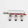 CO2 Gas manifold with MFL / John guest push fits