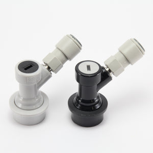 Pair of Premium Ball lock MFL disconnects with John guest fittings