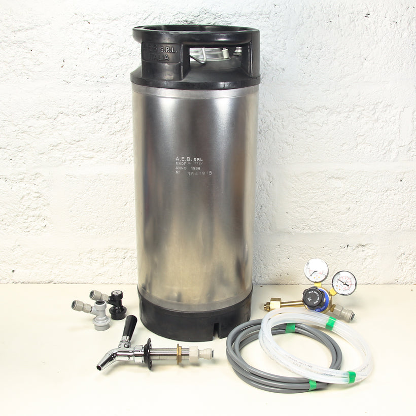 Standard Keg Kit with Intertap faucet.