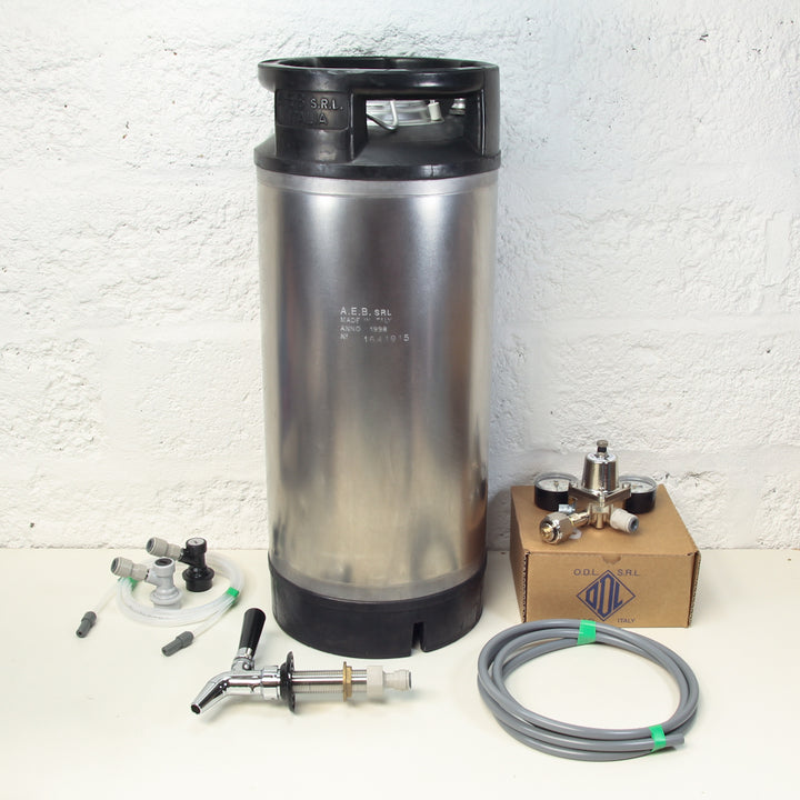 Premium Intertap Keg Kit - optional sodstream adapter