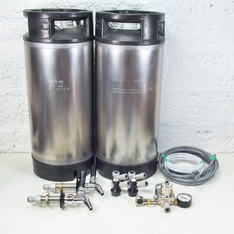Premium Kegerator Kit (2 kegs) + Premium Regulator Offer - PREORDER
