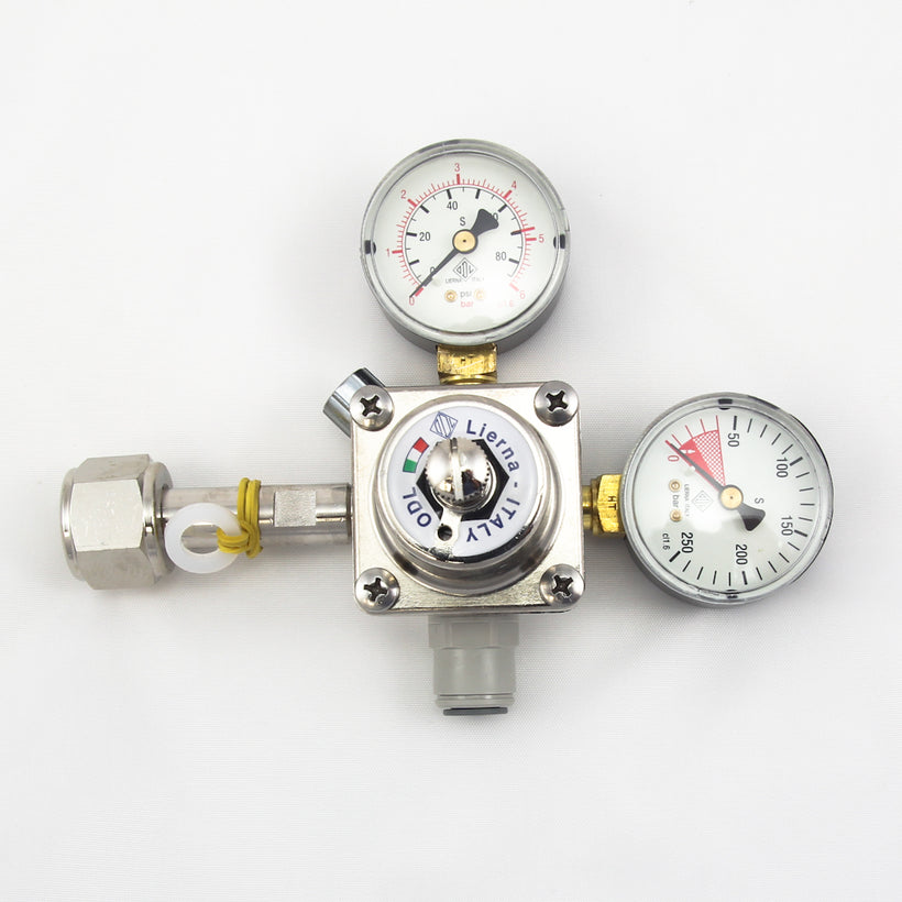 Premium ODL CO2 Regulator - made in Italy
