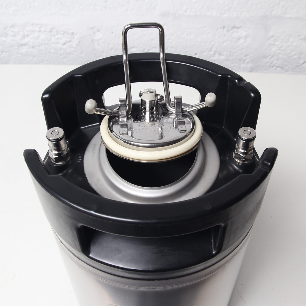 9l Ball Lock Corny Keg Brand New Brewkegtap