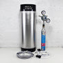 New Corny Keg Sodastream Kit with Deluxe Party Tap