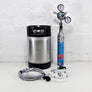 New 9L Corny Keg Sodastream Kit with Deluxe Party Tap