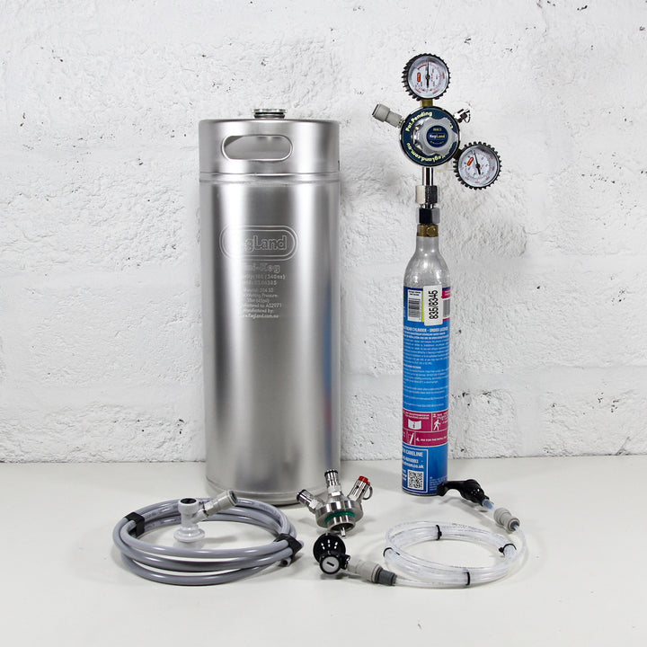 10L MiniKeg Sodastream Kit
