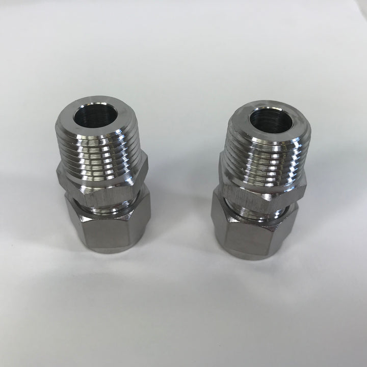 Compression fittings for Robobrew chiller