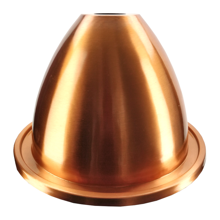 AlcoEngine Copper Alembic Distillation Lid (47mm Hole)