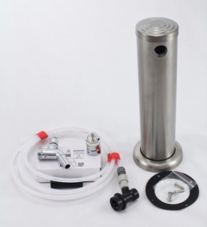 Stainless Steel Beer Tower single Intertap tap kit