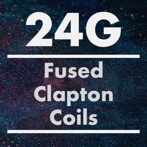 24G Fused Clapton Coil