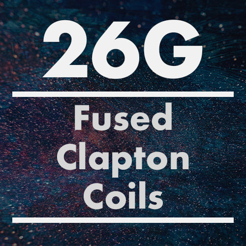 26G Fused Clapton Coil