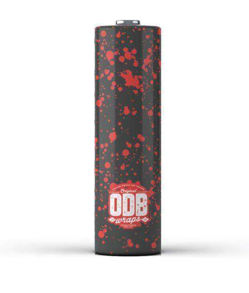 Interstellar Vaping Battery Wraps Splatter ODB Wraps Original ODB Wraps