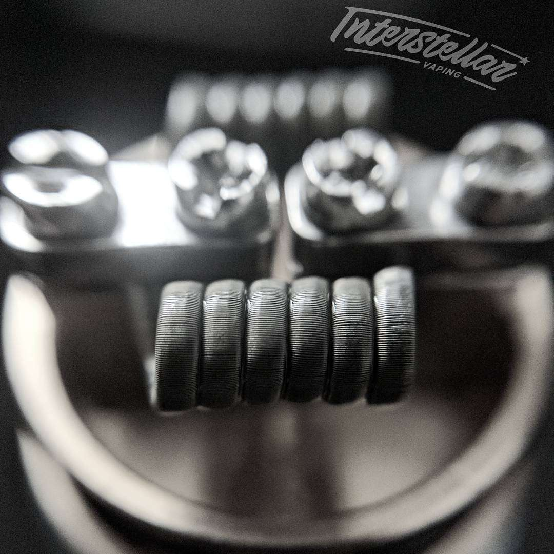 Interstellar Vaping Handmade Coil Framed Staple Fused Clapton Coil