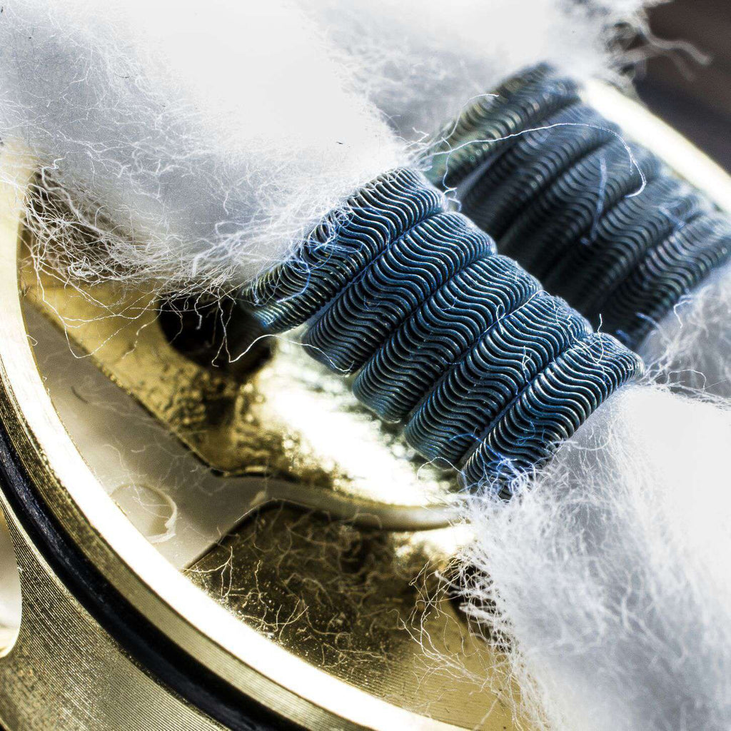 Interstellar Vaping Handmade Coil Tri-Core Alien Clapton Coil