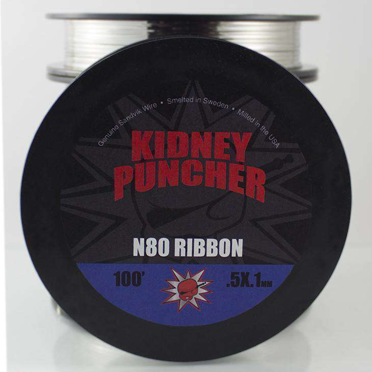 Kidney Puncher Wire .3mm x .1mm Ribbon 100ft Kidney Puncher Nichrome 80 Wire
