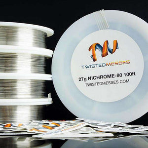 Twisted Messes Wire 24g 100ft Twisted Messes Nichrome 80 Wire