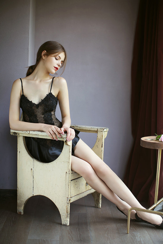 Black Swan Dress Set