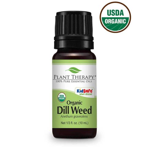 Dill Weed ORGANIC Essential Oil 10ml - Essentially Oil'd Australia