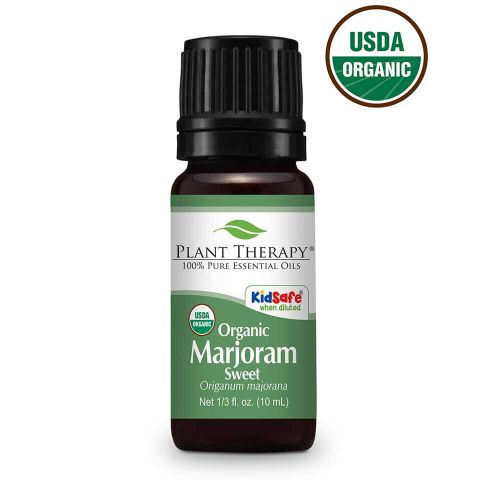 Marjoram Sweet ORGANIC Essential Oil 10ml - Essentially Oil'd Australia