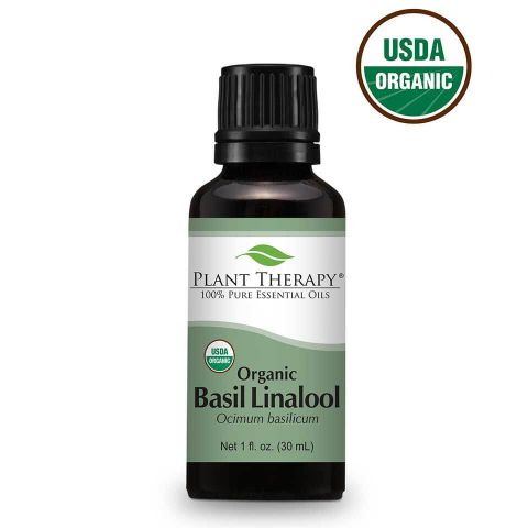 Basil Linalool ORGANIC Essential Oil 30ml - Essentially Oil'd Australia