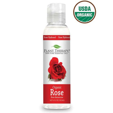 Rose ORGANIC Hydrosol 118ml - Essentially Oil'd Australia