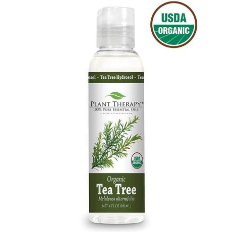 Tea Tree ORGANIC Hydrosol 118ml - Essentially Oil'd Australia