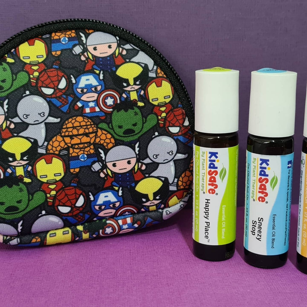 Essential Oil Carry Pouch