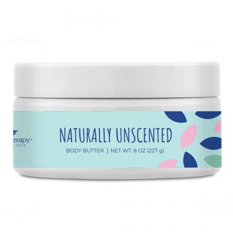 Naturally Unscented Body Butter 227gm