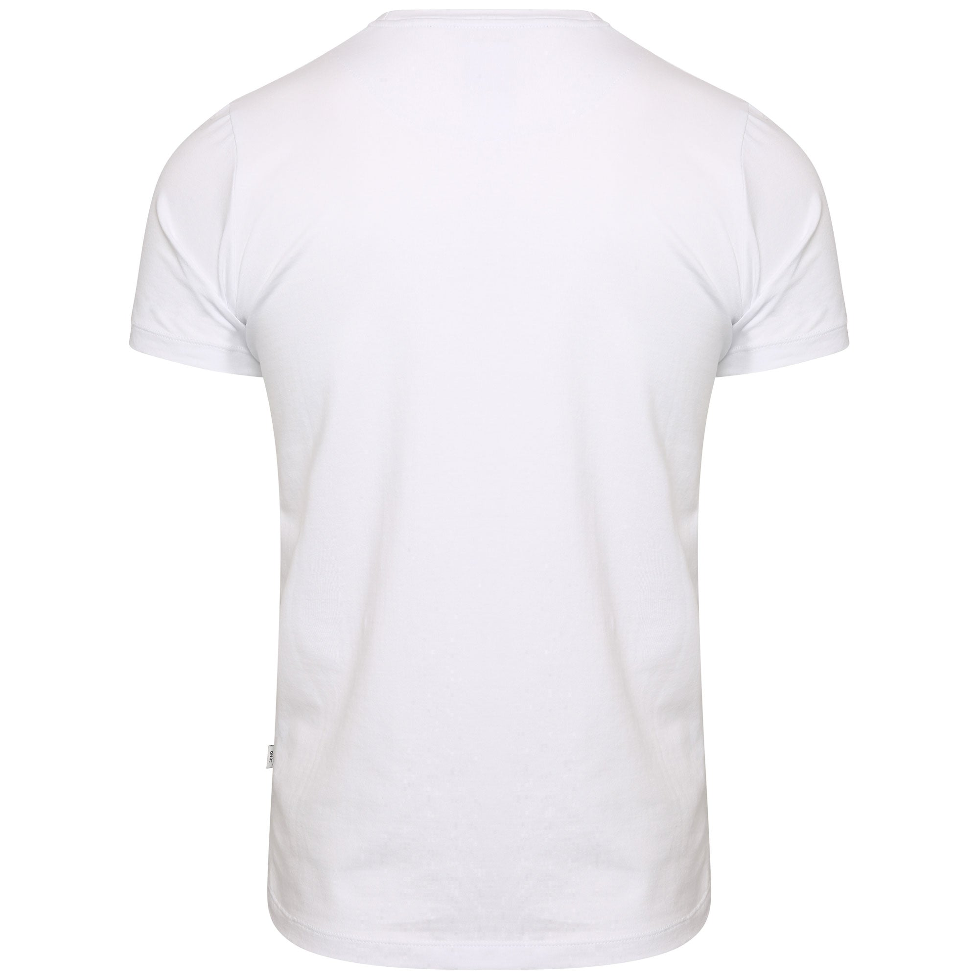 Style: Anhur 99 Luxury Crew Neck T-Shirt - White - Junq Couture