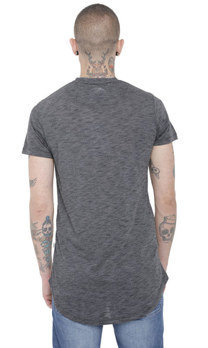 Style: Toth 107 Luxury T-Shirt - Grey - Junq Couture