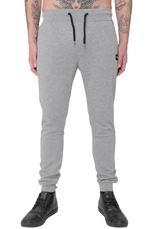Style: Keket 300 Basic Slim Fit Jogger Grey - Junq Couture